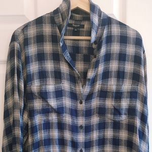 Women's Madewell 1937 Flannel Size Large